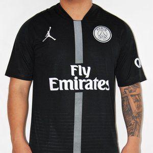 black psg #7 mbappe , #10 Neymar home socce jersey